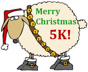 Merry Christmas 5K Sheep